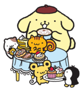 Sanrio Characters Pompompurin--Muffin--Bagel--Scone--Whip Image001