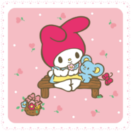 Sanrio Characters My Melody--Flat Image006