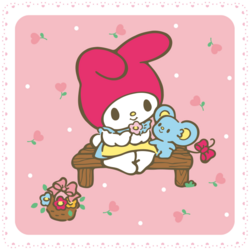 Sanrio Characters My Melody--Flat Image006.png