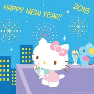 Sanrio Characters Hello Kitty--Joey--New Year Image001