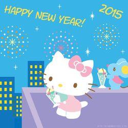 Sanrio Characters Hello Kitty--Joey--New Year Image001.jpg