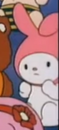 My Melody in the crowd