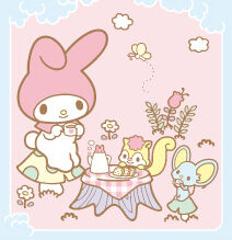 Sanrio Characters My Melody--Risu--Flat--Chocho Image001.jpg