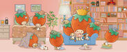 Sanrio Characters Strawberry King--Tuffy--Tommy--Dandy--Crybaby--Socrates--Stinky--Candy (Strawberry King) Image007