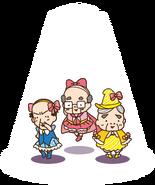 Sanrio Characters Chunenheroine Ojisan's Image004