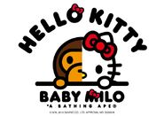 Hello Kitty x Baby Milo Logo