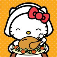 Sanrio Characters Hello Kitty--Thanksgiving Image001