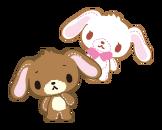 Sanrio Characters Kurousa--Shirousa Image009