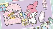 Sanrio Characters My Melody--Risu--Flat Image006