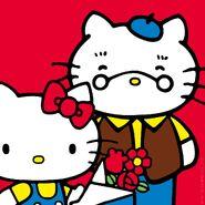 Sanrio Characters Grandpa (Hello Kitty)--Hello Kitty Image001