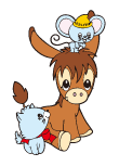 Sanrio Characters Spunky Burro Image002