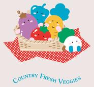 Sanrio Characters Country Fresh Veggies Image007