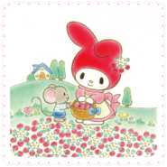 Sanrio Characters My Melody--Flat Image007