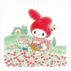 Sanrio Characters My Melody--Flat Image007.png