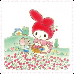 Sanrio Characters My Melody--Flat Image007.png