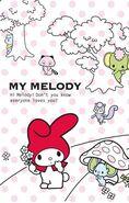 Sanrio Characters My Melody--Flat--Risu--Araiguma--Kangaroo--Zou Image001