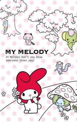 Sanrio Characters My Melody--Flat--Risu--Araiguma--Kangaroo--Zou Image001.jpg