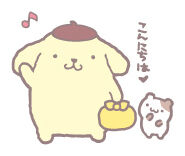 Sanrio Characters Pompompurin--Muffin Image003
