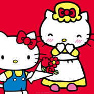Sanrio Characters Mama (Hello Kitty)--Hello Kitty Image001