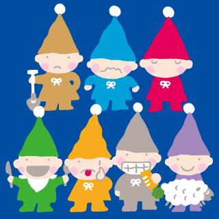Seven Silly Dwarfs