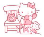 Sanrio Characters Hello Kitty--Joey Image002