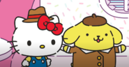 Detective Kitty and Detective Pompom