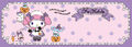 Sanrio Characters My Melody--Halloween Image001