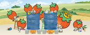 Sanrio Characters Strawberry King--Tuffy--Tommy--Dandy--Crybaby--Socrates--Stinky--Candy (Strawberry King) Image005