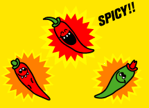 The Chilli Pepper Trio