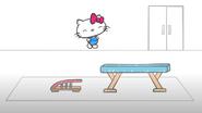 Hello Kitty's massive jump
