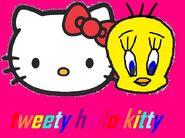 Sanrio Characters Tweety Hello Kitty Image023