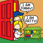 Sanrio Characters Patty & Jimmy--Fuzzy Image003