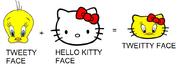 Sanrio Characters Tweety Hello Kitty Image016
