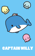 Sanrio Characters Captain Willy (whale) Image005