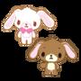 Sanrio Characters Kurousa--Shirousa Image012