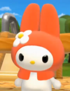 My Melody angry