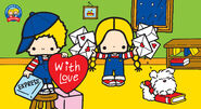 Sanrio Characters Patty & Jimmy--Fuzzy Image001