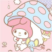 Sanrio Characters My Melody--Risu--Flat Image003