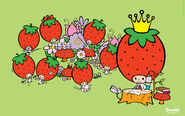 Sanrio Characters Strawberry King--Tuffy--Tommy--Dandy--Crybaby--Socrates--Stinky--Candy (Strawberry King) Image003