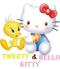 Sanrio Characters Tweety Hello Kitty Image021.jpg