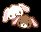 Sanrio Characters Kurousa--Shirousa Image004