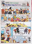 Halloween Vaudeville Comic ENG