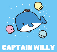 Sanrio Characters Captain Willy (whale) Image006