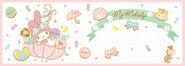 Sanrio Characters My Melody--Flat--Risu--My Sweet Piano Image002