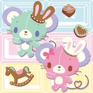 Sanrio Characters Cocoa--Vanilla (Sugarbunnies) Image001