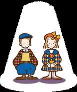 Sanrio Characters Vaudeville Duo Image007