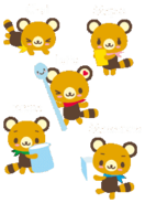 Sanrio Characters Latte--Maple--Macchiato--Frappe--Chai Image001