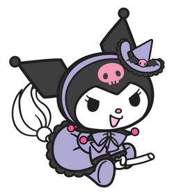 Sanrio Characters Kuromi Halloween Image001.png