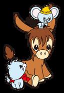 Sanrio Characters Spunky Burro Image007