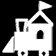 Sanrio Characters House Train Image005